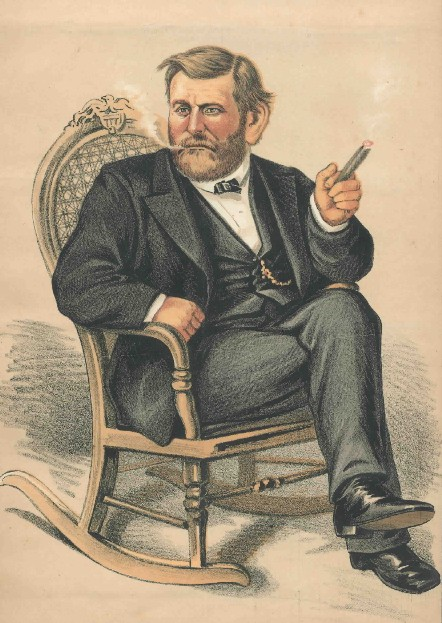 the gruesome campaign for presidency in 1872