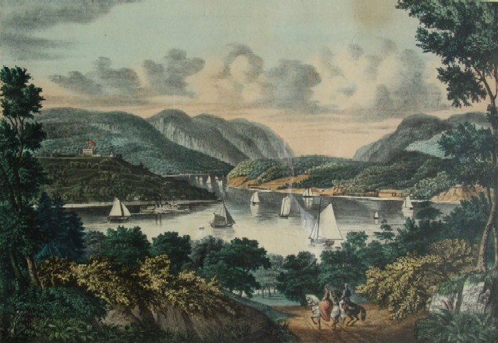 West Point River View Print